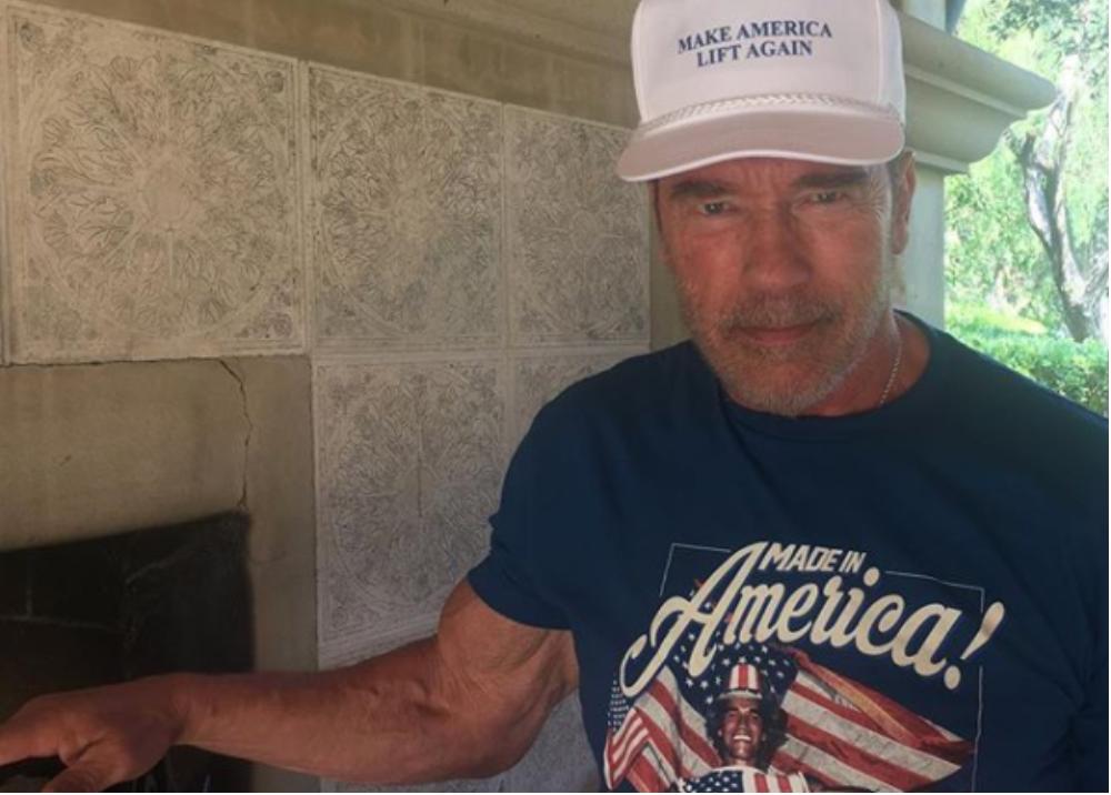 302381_Foto: Arnold Schwarzenegger/Instagram: schwarzenegger
