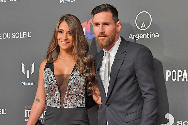 Antonela Rocuzzo, esposa de Lionel Messi