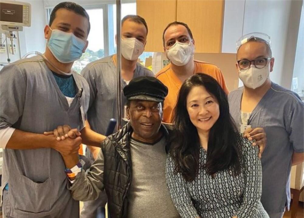 Pelé es dado de alta Foto Instagram pele.jpg