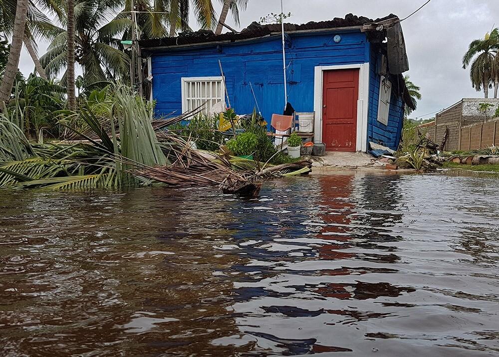 Devastación del huracán Iota en Providencia : AFP.jpeg
