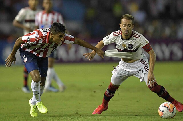 333169_Junior vs. Flamengo, por Libertadores
