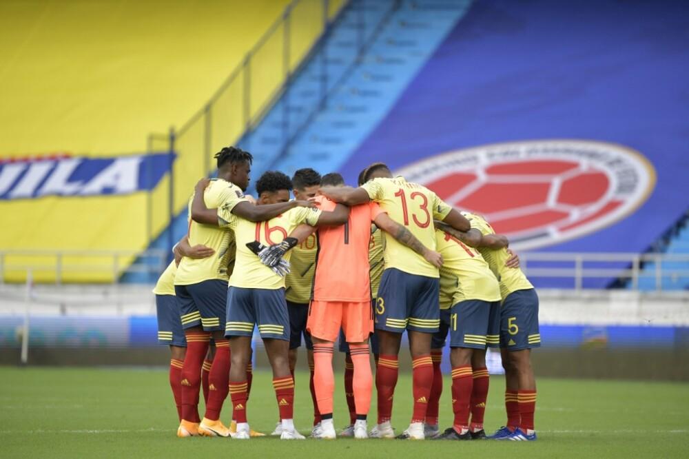 Selección Colombia. Foto AFP
