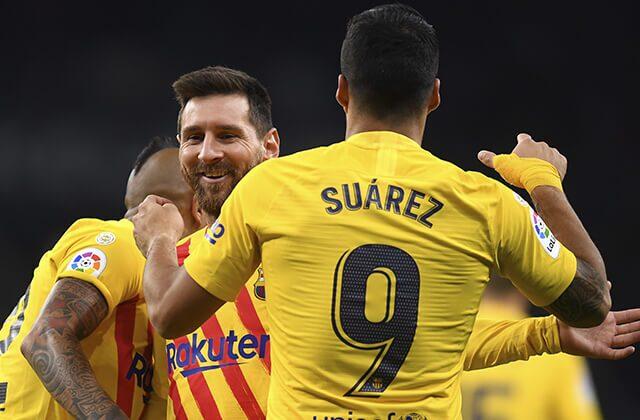338582_Lionel Messi y Luis Suárez