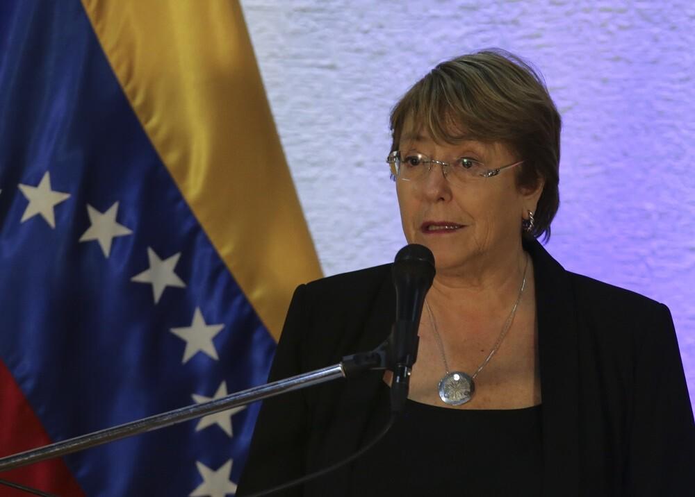 337082_BLU Radio. Michelle Bachelet // Foto: AFP