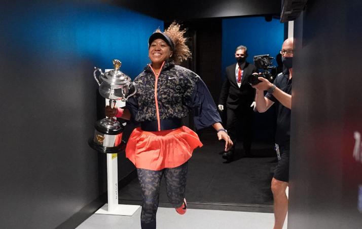 Naomi Osaka se coronó campeona del Abierto de Australia 2021.