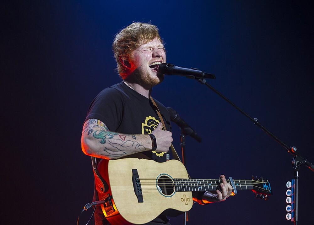 285308_BLU Radio, Ed Sheeran en concierto / foto: AFP