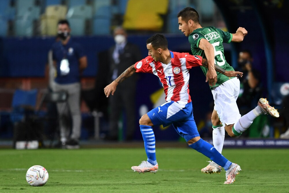 Alejandro Gamarra, jugador paraguayo. AFP.jpg