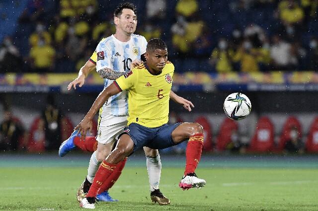 Colombia contra Argentina, en Copa América