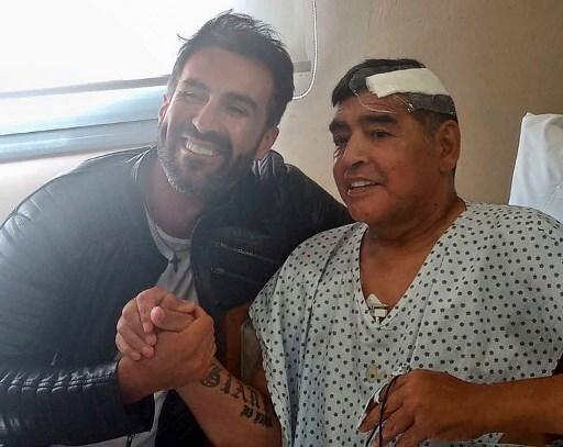 Médico Leopoldo Luque y Maradona