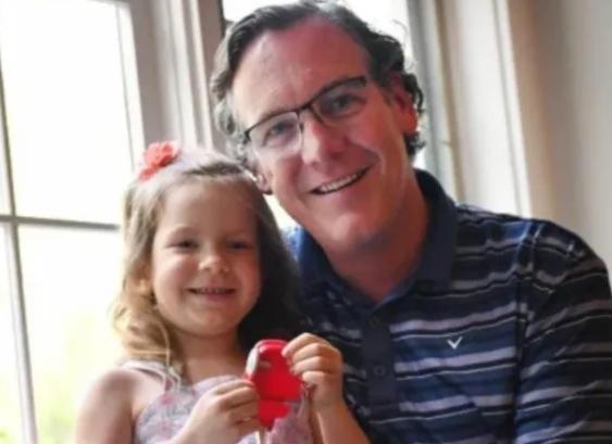 Matt Uber y su hija Vera