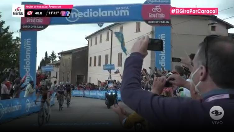 Segundo premio de montaña etapa 15 del Giro de Italia