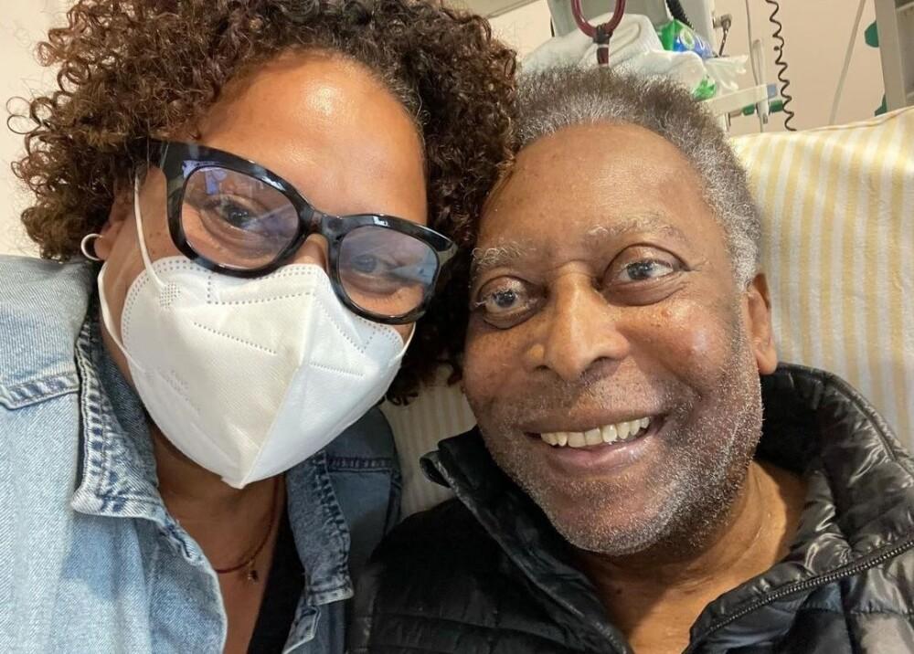 Pelé y su hija Foto  iamkelynascimento.jpg