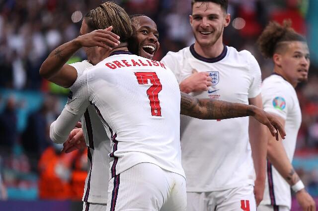 Selección de Inglaterra, en la Eurocopa