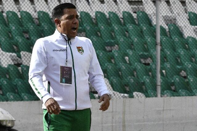 César Farías, director técnico de la Selección de Bolivia