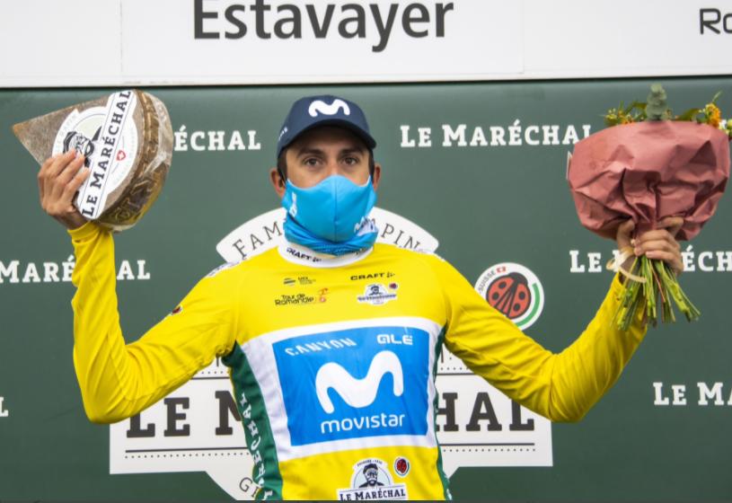 Marc Soler es el líder del Tour de Romandía.