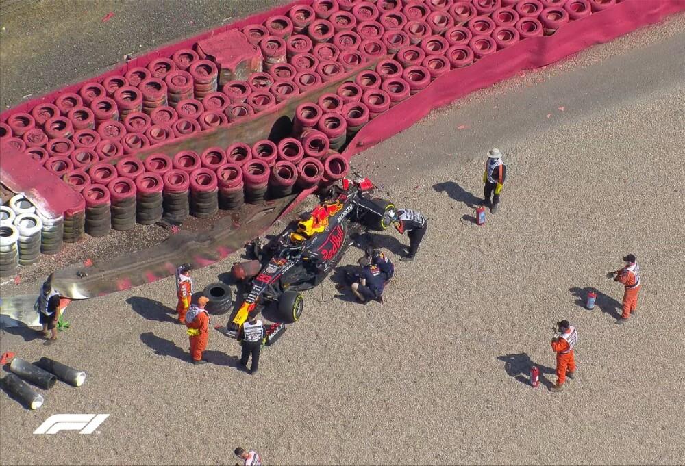 Max Verstappen abandona el Gran Premio de Gran Bretaña