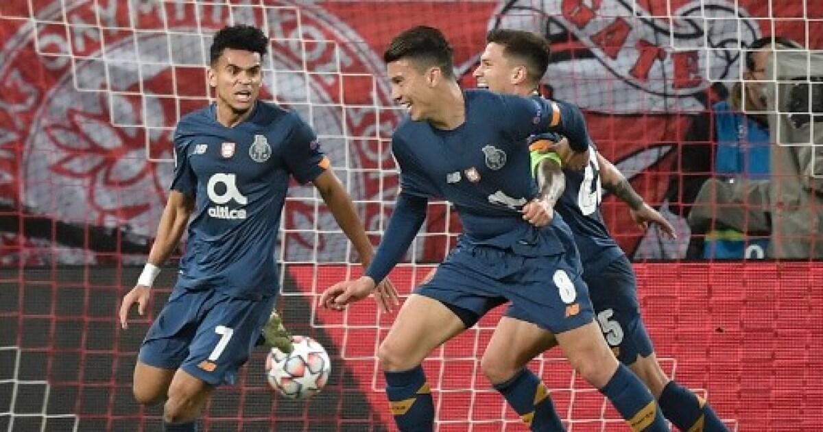 Luis Díaz y Mateus Uribe, titulares en el partido de Porto vs Moreirense, en Liga de Portugal