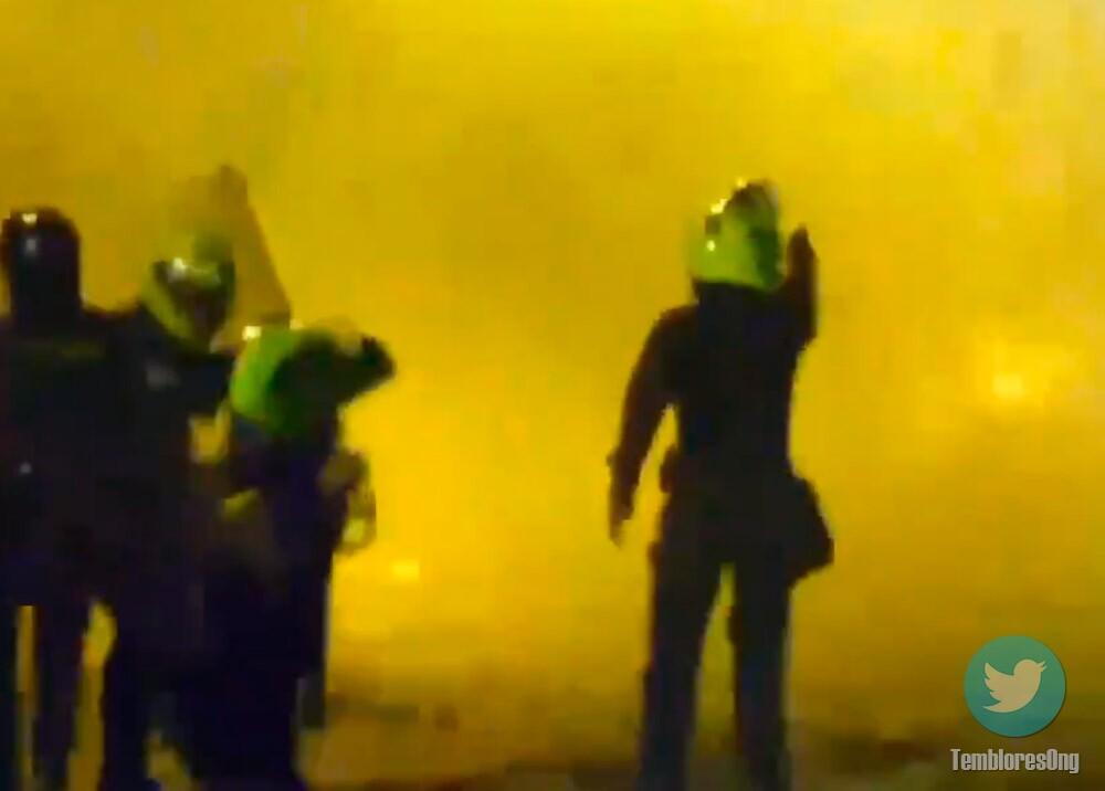Policía dispara contra civiles durante protestas por asesinato de Javier Ordóñez
