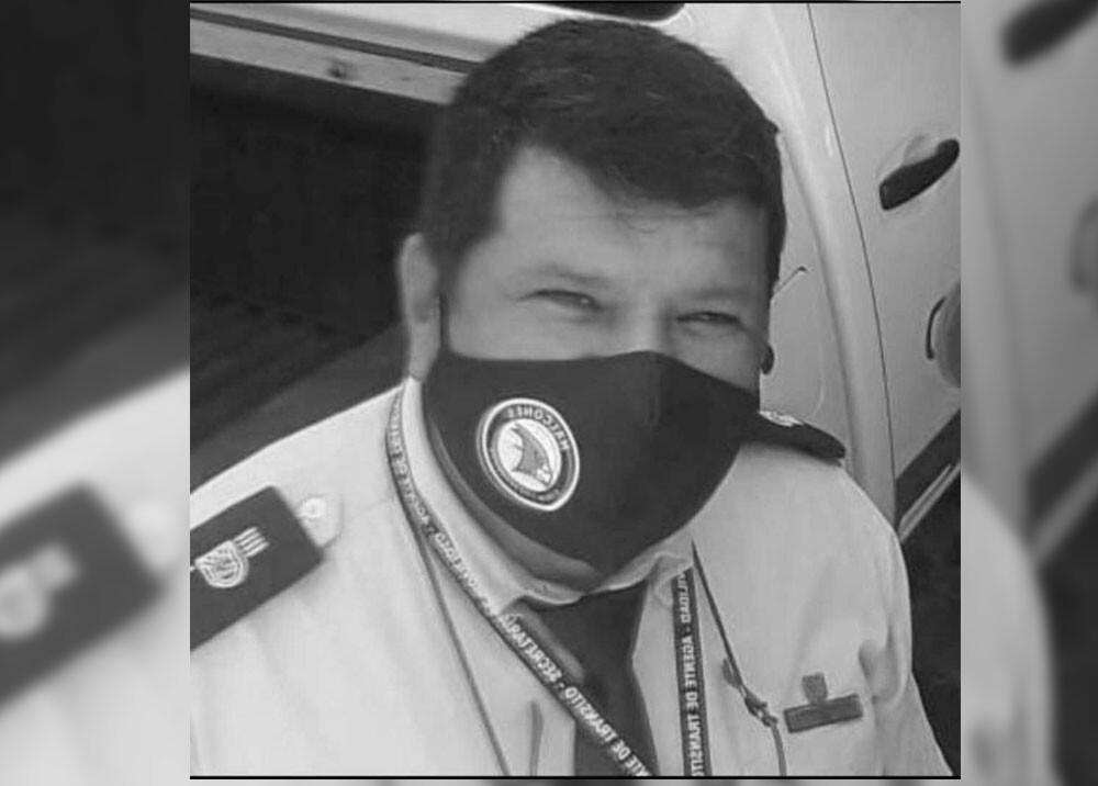 Jhon Jairo Castillo García agente muerto por coronavirus.jpg
