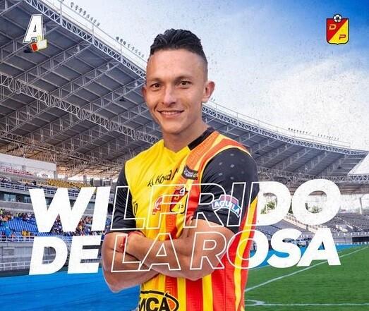 Wilfrido de La Rosa. Foto: Deportivo Pereira