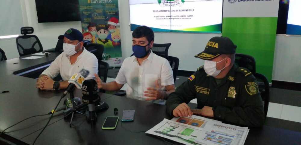 Alcalde Pumarejo y Policía