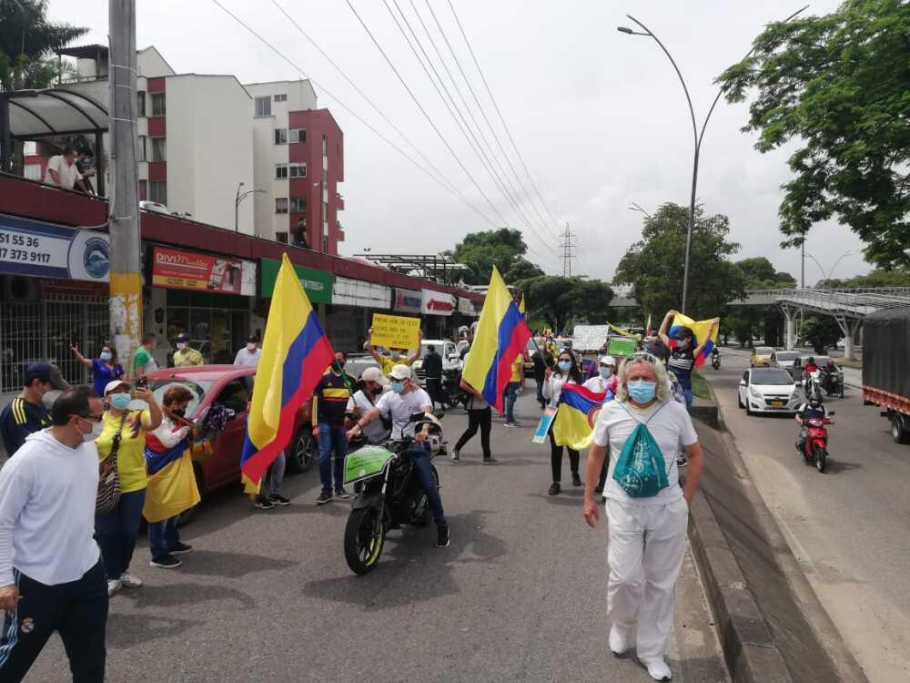 Marchas en Bucaramanga.