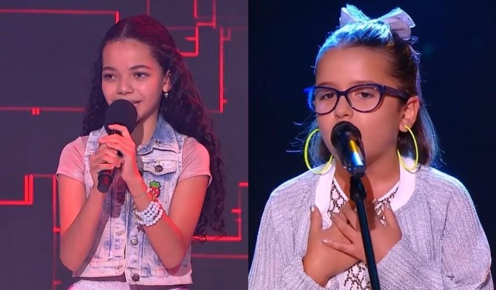 María Victoria encantó con la interpretación de 'Chocolate' en La voz Kids.