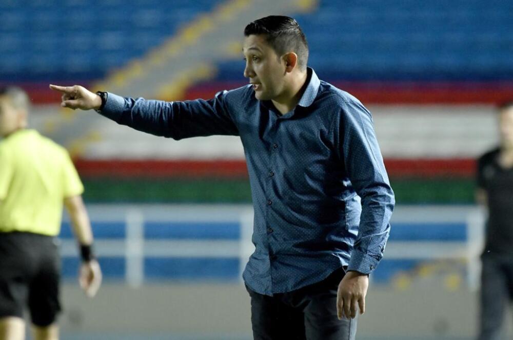 Diego Corredor, entrenador del Pasto