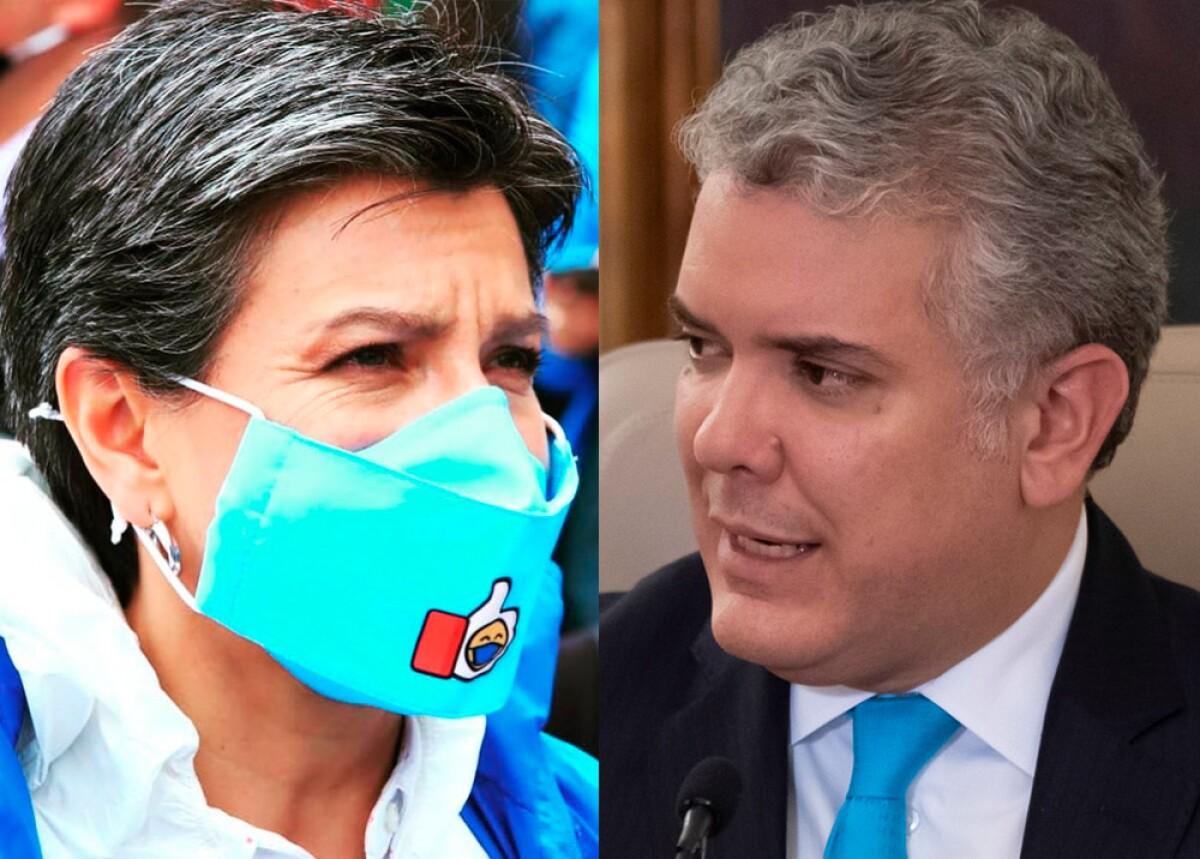 Por qué le pidieron permiso al presidente Duque para suspender vacaciones  de Claudia López?