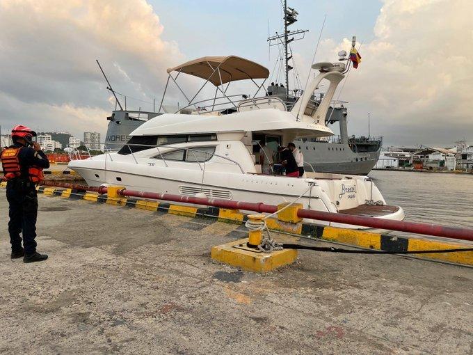 Muere turista mexicano en Cartagena tras ser atrapado por máquina de propulsión de un yate