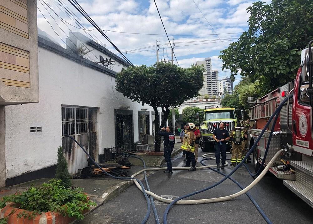 355720_BLU Radio. Incendio Bucaramanga / Foto:BLU Radio