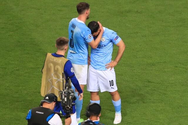 Sergio Agüero rompió en llanto tras perder la final de la Champions League