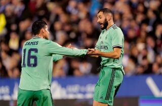 James Rodríguez y Karim Benzema, Real Madrid