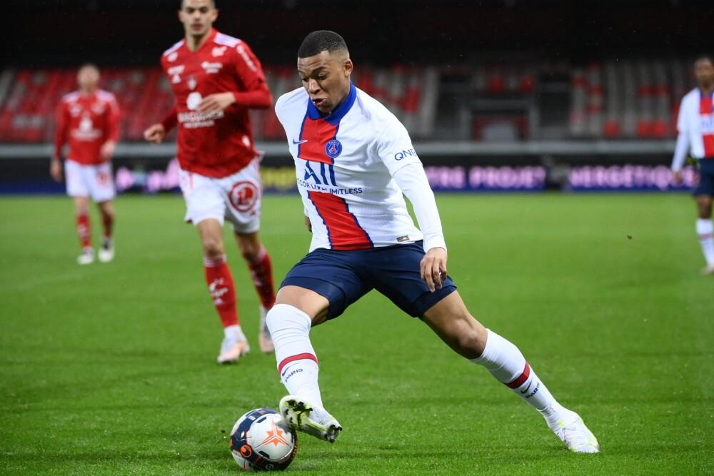 Mbappe, jugador del PSG. AFP.jpg