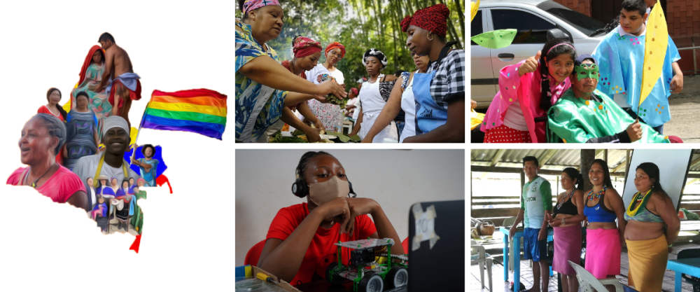 Programa Inclusión para la Paz (IPA) con comunidades indígenas y afrocolombianas