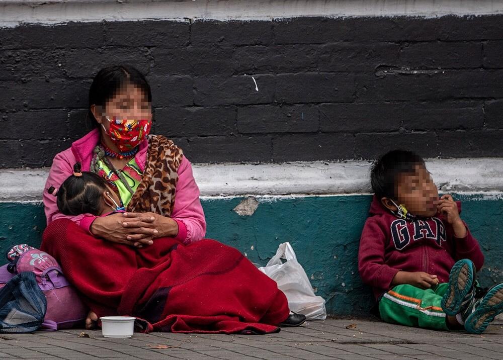 370126_Desempleo y mendicidad en Colombia durante la pandemia // Foto: AFP, imagen de referencia