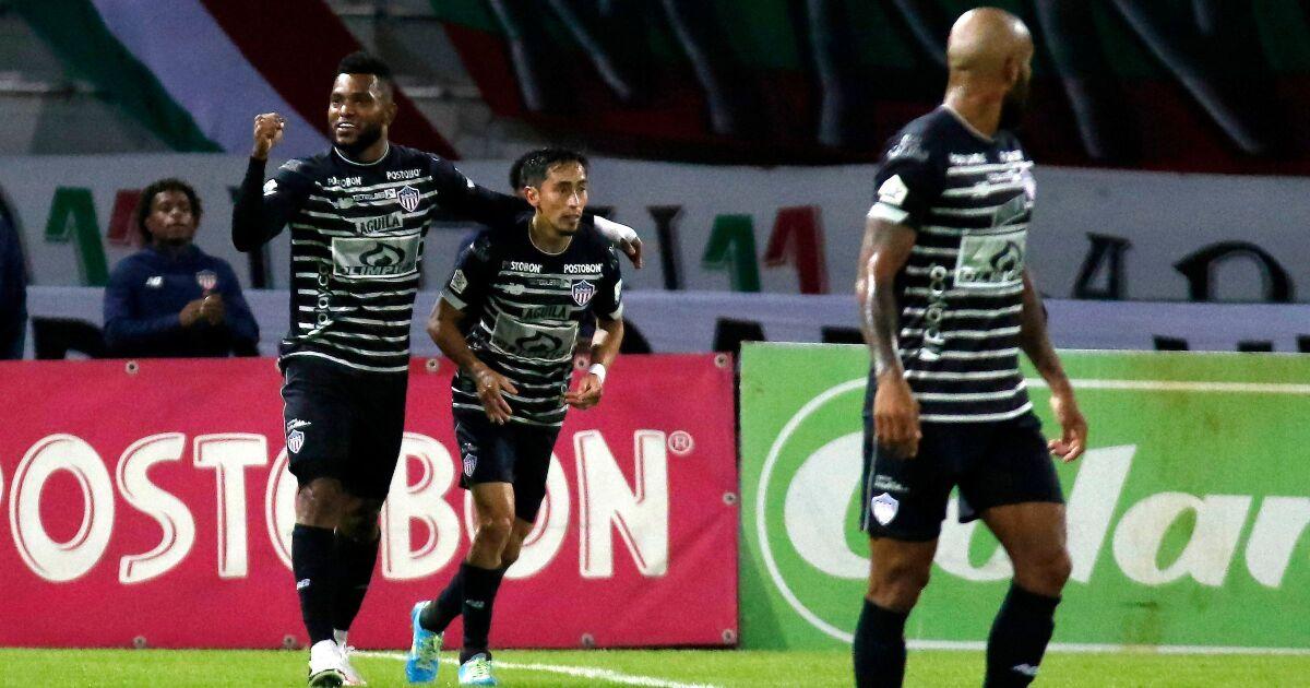 Junior, como los 'pura sangre': remontó y venció 1-2 a Once Caldas, en Manizales