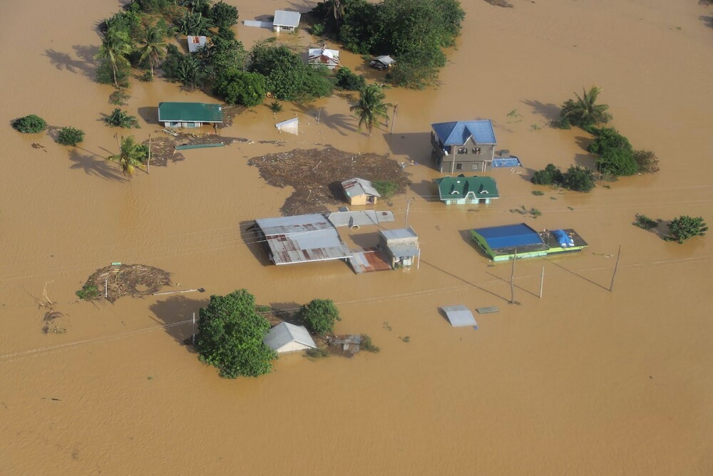 Tifón Vamco en Filipinas / AFP