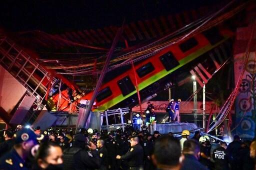 Al menos 15 muertos y 70 heridos tras accidente en metro de Ciudad de México