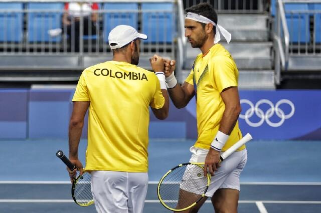 Juan Sebastián Cabal y Robert Farah, en los Juegos Olímpicos