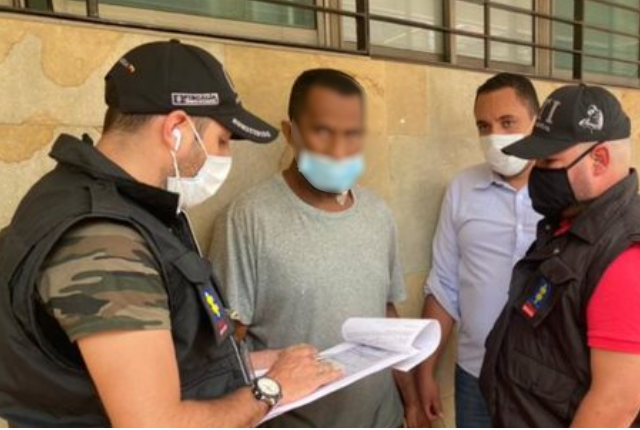 hombre señalado de asesinar a su esposa e hijo en Itagüí