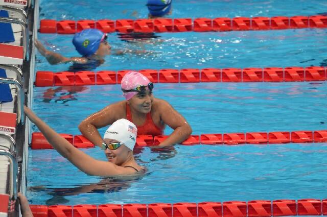 Sara Vargas, en los Juegos Paralímpicos de Tokio 2020