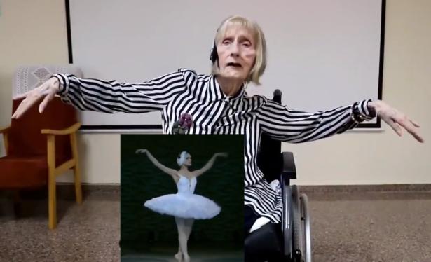 El emotivo 'despertar' desde el Alzheimer de una bailarina de ballet al  escuchar Tchaikovsky