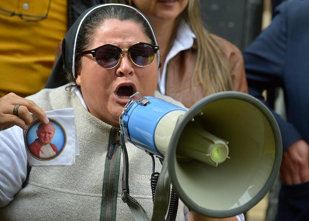 345562_BLU Radio. Sor Adriana Torres // Foto: AFP