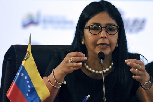 16782_BLU Radio. Delcy Rodríguez. Foto: AFP