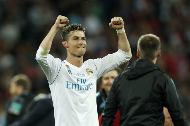 333030_Cristiano Ronaldo en la final de la Champions League 2018