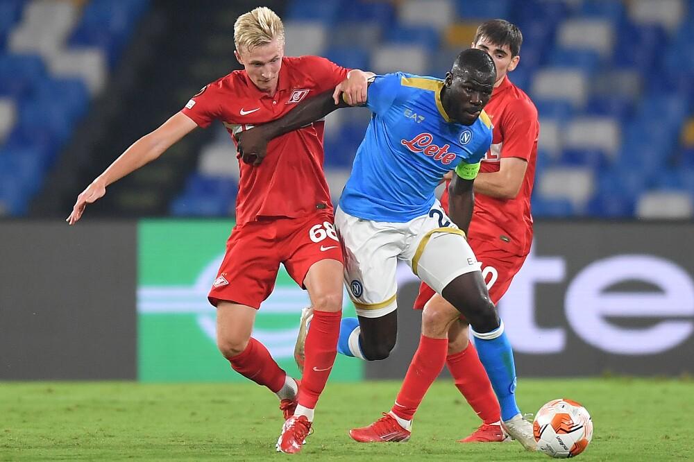 Nápoles recibió al Spartak Moscú, en Europa League
