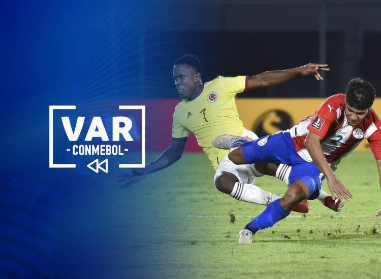 VAR Paraguay vs. Colombia