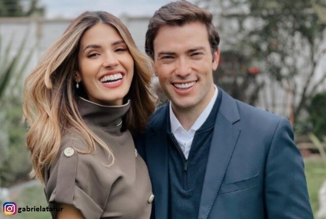 Gabriela Tafur y Esteban Santos