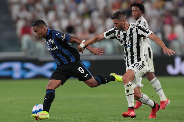 Juventus contra Atalanta, en juego preparatorio